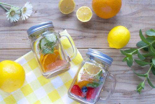 水,オシャレ,フルーツ