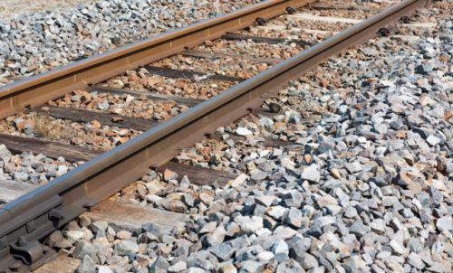 バラスト,鉄道