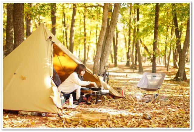 キャンプ,女子,ひとり