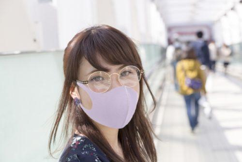 マスク,メガネ