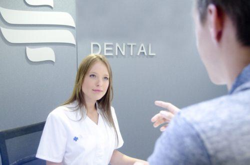 歯医者,受付