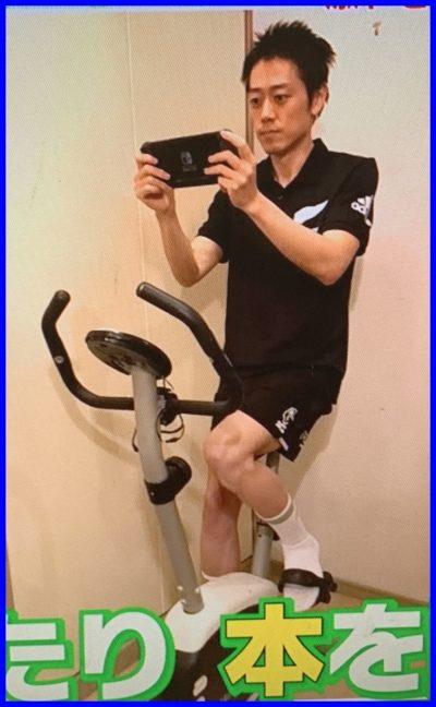 安村直樹,フィットネスバイク