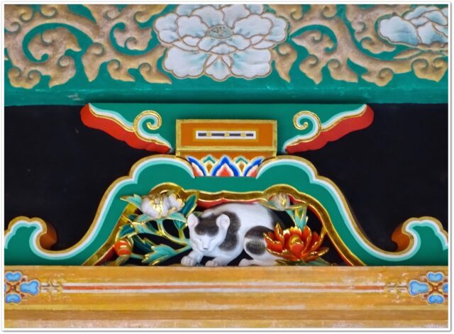 日光東照宮,眠り猫